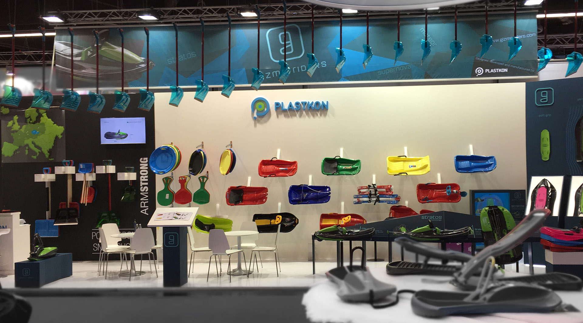 Plastkon - Exhibition stands